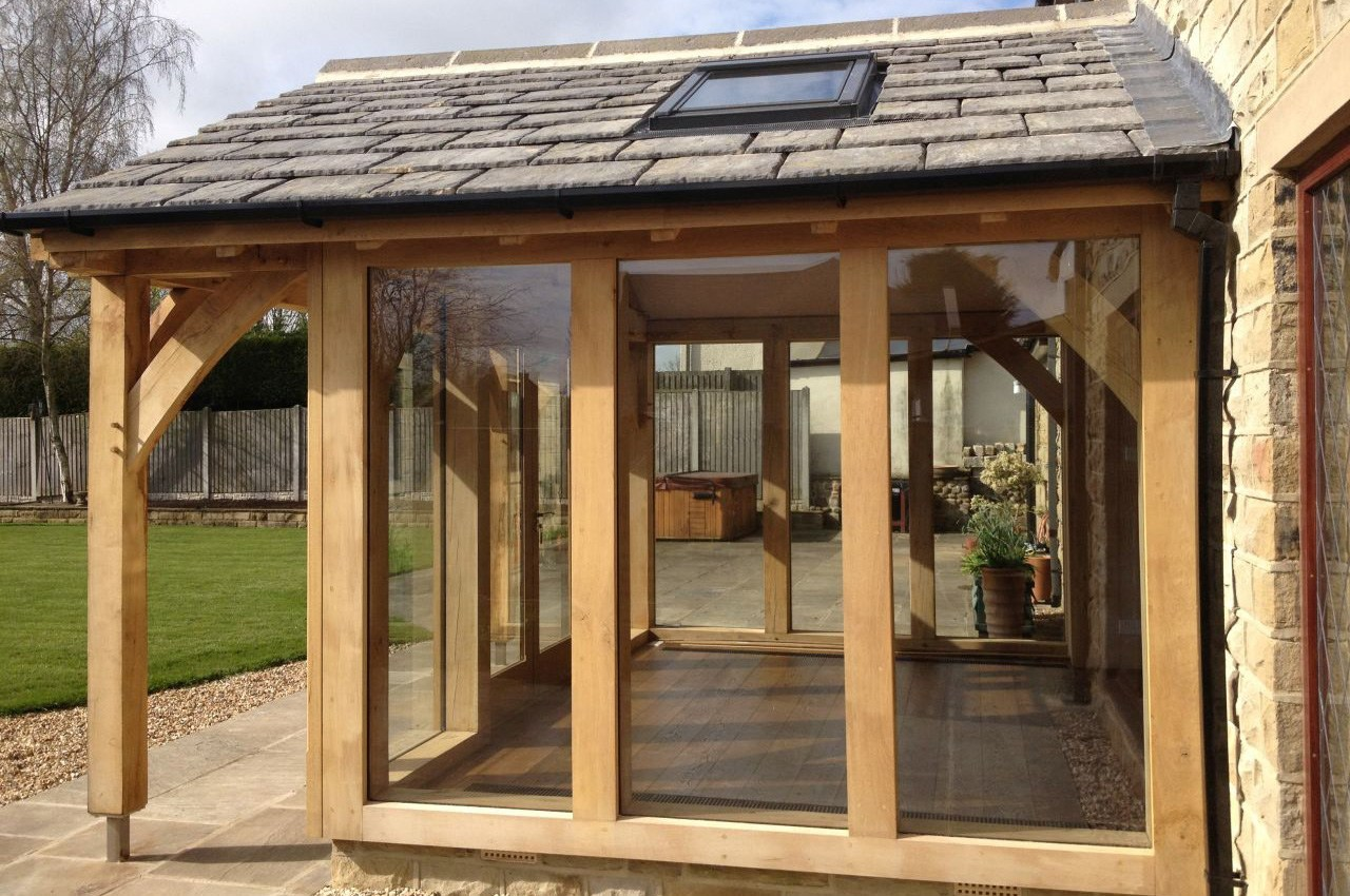 Oak Framed Extension Townscape Architects